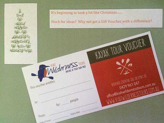 Gift Vouchers make the best Christmas presents!