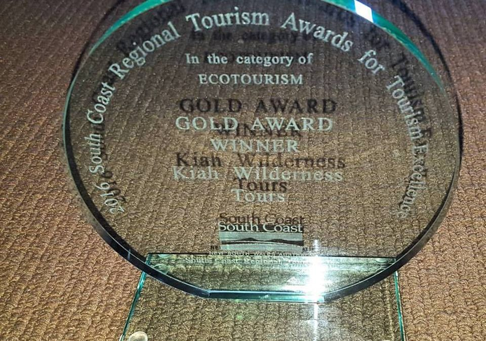 Ecotourism Gold Award!