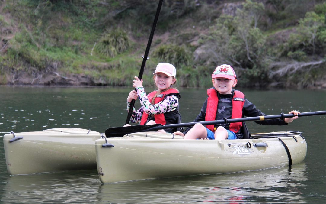 Kids can kayak